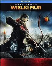 The Great Wall [Blu-Ray] [Region Free] (English audio. English subtitles)