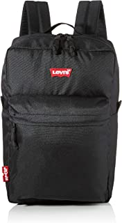 LEVIS FOOTWEAR AND ACCESSORIES - The Levi's® L Pack Standard Issue, Hombre, Negro (Noir), 26x13x41 cm (W x H L)