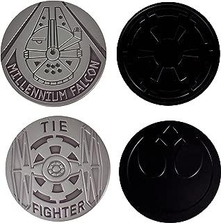 Official Star Wars Metal Coasters