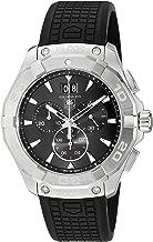 TAG Heuer Men's CAY1110.FT6041 Analog Display Swiss Quartz Black Watch