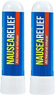 Nausea Relief Inhaler 2 Pack - Motion Sickness, Chemo Queasiness, Morning Sickness, etc.