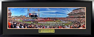San Francisco Giants 2014 World Series Panoramic (Deluxe) Framed