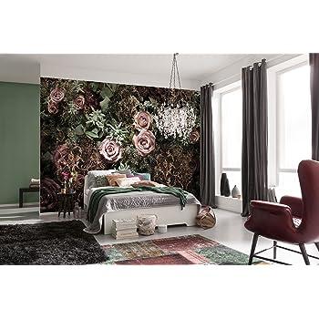 /rose Lot de 4 Komar xxl4 034/368/x 248/cmLa maison Motif floral papier peint/