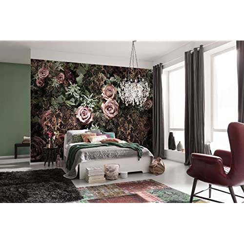 Floral Wall Mural Amazon Co Uk