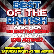 Best Of The British - Music From: The Boat That Rocked, Nowhere Boy, Love Actually and More