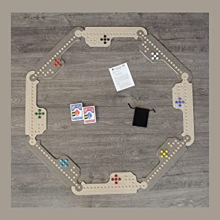 Jokers and Marbles Game (Grey, 4-8 Player)