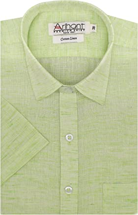 Arihant Men's Cotton Regular Fit Formal Shirt