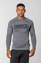 Battle Men's Big Logo Performance Long Sleeve