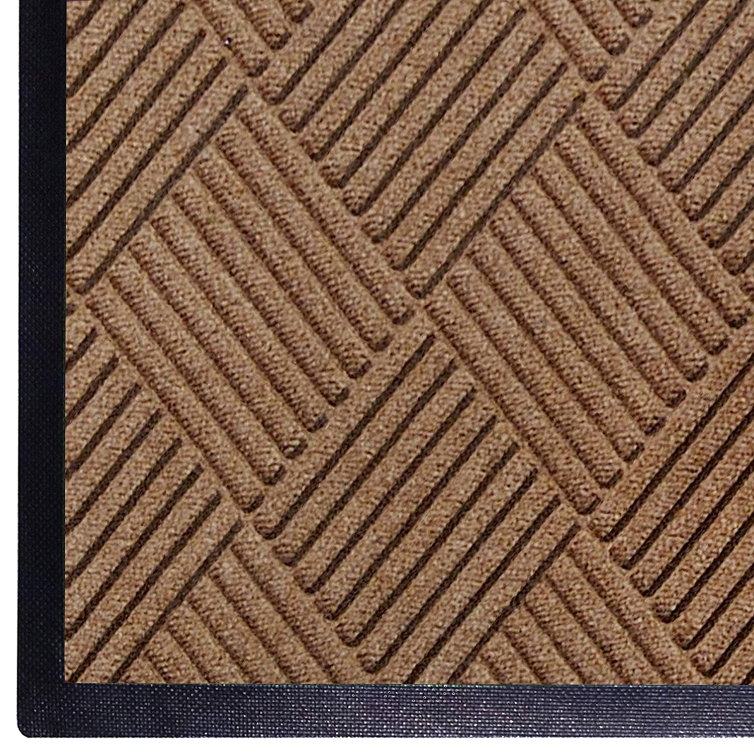 High quality new WaterHog Diamond Al sold out. Commercial-Grade Entrance Rubber Bor with Mat