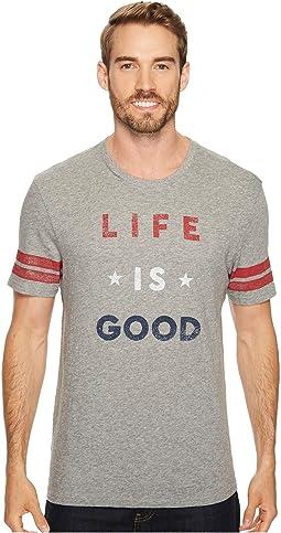 Americana Life Is Good® Vintage Sport Tee