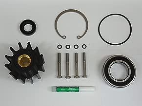 Premium Stainless 2005 & Newer Volvo Penta Gas Sterndrive Raw Water Pump Repair Rebuild Kit Crankshaft Mounted