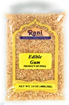 Rani Edible Gum Whole (Arabica Gum) 14oz (400g) Bulk ~ All Natural, Salt-Free | Vegan | No Colors | Gluten Free Ingredients | NON-GMO | Indian Origin