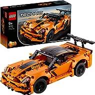 LEGO Technic Chevrolet Corvette ZR1 42093 Building Kit, 2019 (579 Pieces)