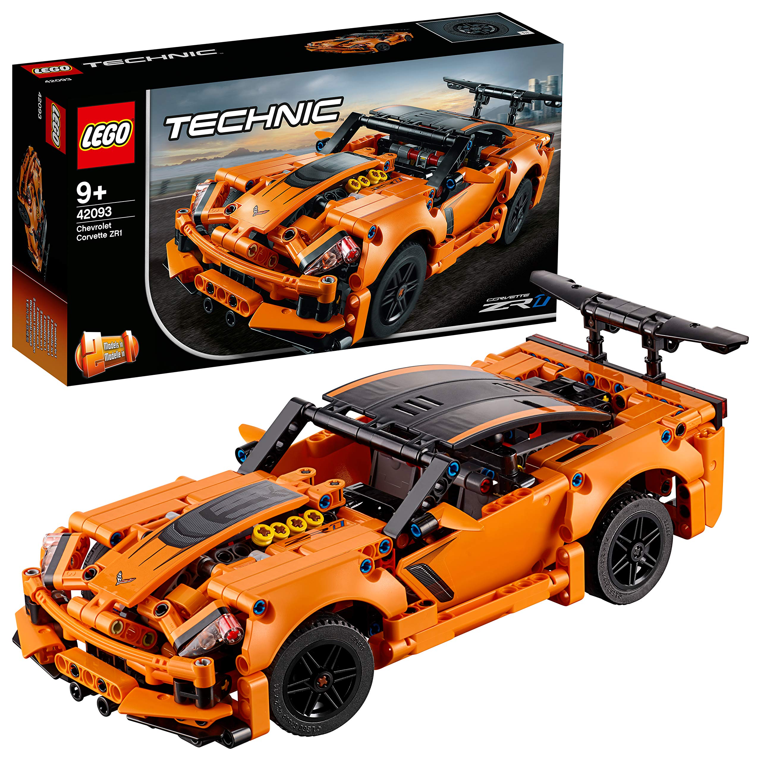 LEGO Technic Chevrolet Corvette Building