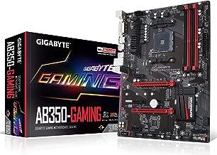 GIGABYTE GA-AB350-Gaming (AMD RYZEN AM4/ B350/ SMART FAN 5/ HDMI/ M.2/ SATA/ USB 3.1 Type-A/ ATX/ DDR4/ Motherboard)