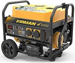 Firman P03608 4550/3650 Watt Remote Start Gas Portable Generator CARB Certified with Wheel Kit, Yellow