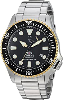 Orient Mens Triton Japanese Automatic Stainless Steel Diving Watch, ...