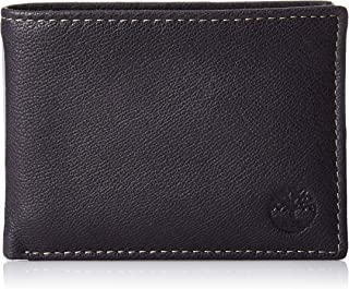 Men's Leather RFID Blocking Passcase Security Wallet