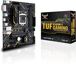 ASUS PB LGA1151 TUF B360M-E Gaming MATX USB3.1 Gen 1 USB3.1 Gen 2 GIGABIT LAN HD Audio