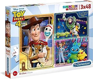 Clementoni Puzzle Disney Toystory 4 3X48 Pieces, multicolor, 25242, 6800000292