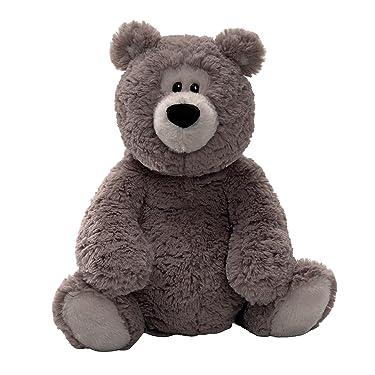 "Gund Rafferty Gray 14"" Bear Plush"