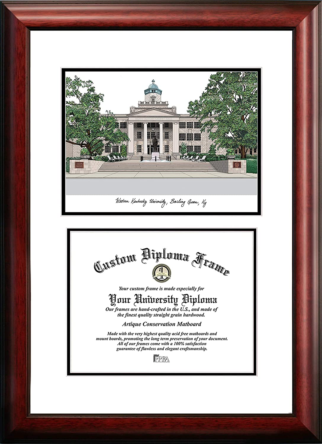 Spring new work Campus Images KY996V Western Kentucky Diploma Weekly update Scholar University