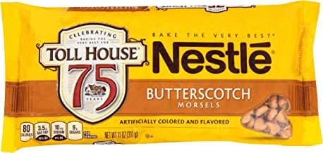 Nestle Toll House Butterscotch Morsels, 11-Ounce Packages (Pack of 12)