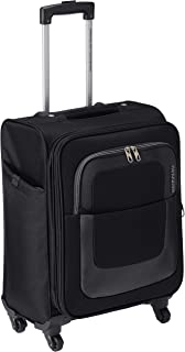 American Tourister Sparta Polyester 55 cms Black Suitcase (12W (0) 09 001)