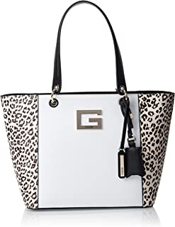Guess Womens Tote Bag, Leopard Multi - LD669123