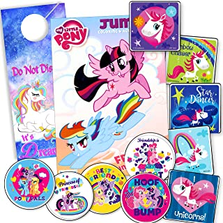 My Little Pony Unicorn Coloring Book with Unicorn Stickers and Unicorn Door Hanger