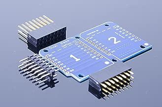 ACROBOTIC WeMos ESP8266 D1 Mini 2×1 Dual Base Board Shield for Arduino NodeMCU Raspberry Pi Wi-Fi IoT