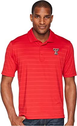 Texas Tech Red Raiders Textured Solid Polo