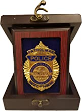 police badge display case