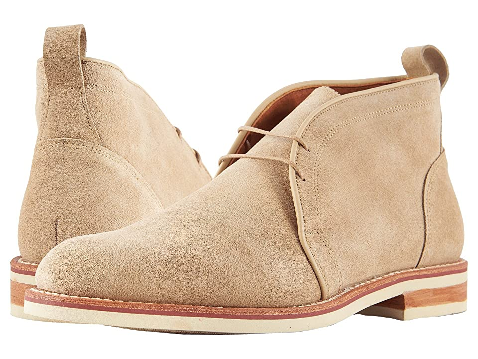 Image of Allen Edmonds Nomad Chukka (Sand Suede) Men's Dress Lace-up Boots