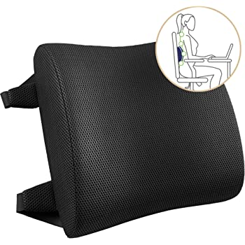awave bloom Lumbar Support,Adjustable Backrest for Car Seat,3D Mesh Breathable Ergonomic Back Support,Elastic Back Cushion Pillow for Car Office Home