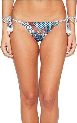 Red Carter - Tahitian Tide Triangle Tie Side Bikini Bottom