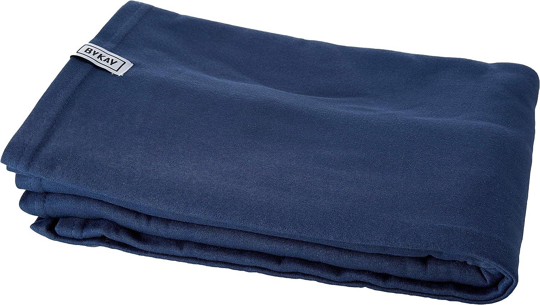 Marsupio per Neonati Elastico ed Avvolgente Sostiene fino a 10kg M Fascia Porta-Beb/è Stretchy Wrap Deluxe ByKay Medela Taglia M Colore Blu Jeans Unisex-Adulto