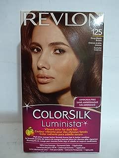 Revlon Colorsilk Luminista Haircolor, Deep Maple Brown