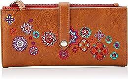 Wallet REP NANIT PIA Marron, Portefeuille Femme