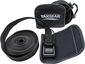 Yak Gear(ヤックギア) タイダウン ストラップ 2セット 保護パッド付き ベルト 4.5m