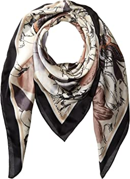 Vince Camuto Garden of Eden Oversize Square Scarf