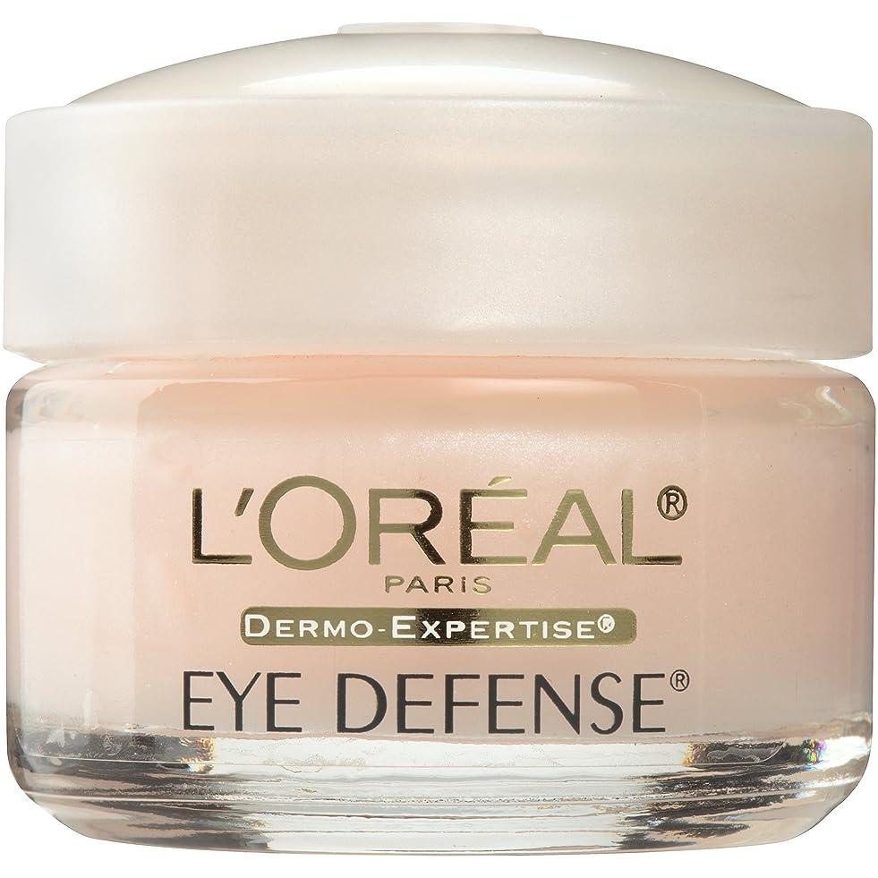 拒否不忠一般的なL'Oreal Dermo-Expertise Defense, Eye (.5 Ounces) (並行輸入品)