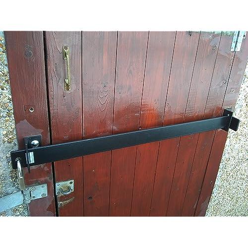 SECURITY DOOR BAR LOCK FOR GARDEN SHEDS GARAGES EXTRA HEAVY DUTY 5 SIZES (150CM)