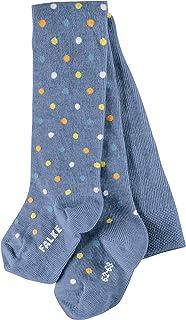 FALKE Strumpfhose Little Dot Baumwolle Baby grau blau viele weitere Farben Babystrumpfhose dünn mit Muster bunt mit Punkte 1 Stück