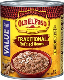 Old El Paso Refried Beans, Traditional, 31 oz Can