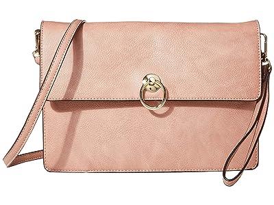 SOLE / SOCIETY Helena Clutch (Oxblood) Handbags
