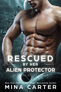 Rescued by her Alien Protector (Warriors of the Lathar Book 11)