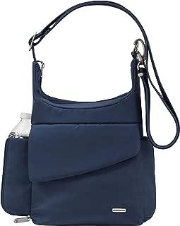 Travelon Travelon Anti-Theft Classic Messenger Bag, Midnight (Blue) - 42242 360