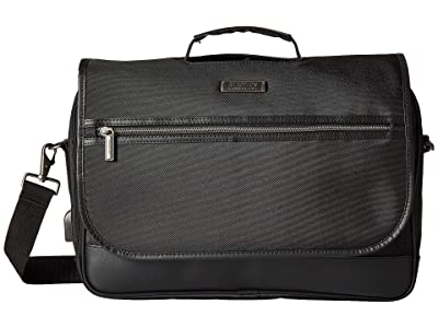 Kenneth Cole Reaction Tech IT Computer Portfolio (Black) Briefcase Bags