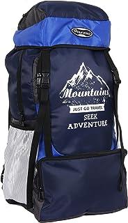 POLESTAR Adventure 55 ltrs NavyRoyal Rucksack for Hiking Trekking/Travel Backpack